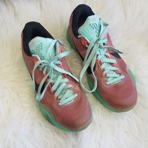 Nike Teal & Coral Active Shoes